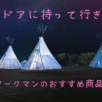 ワークマン キャンプ おすすめ 画像